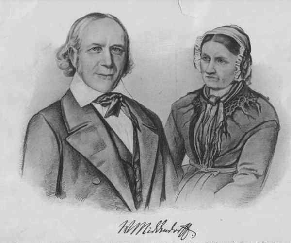 Albertine Froebel and Wilhelm Middendorf