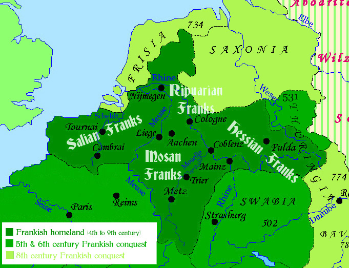 the brief history of the line of frankish kings 1500-1650: early modern english develops the great vowel shift gradually takes place there is a large influx of latin and greek borrowings and neologisms.