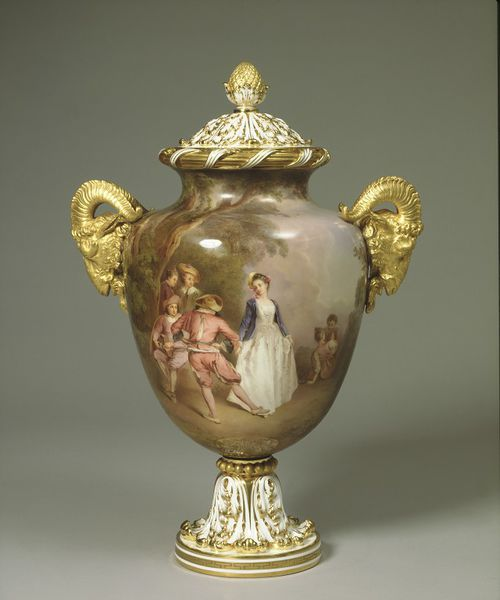 Vase and cover by Jahn, Louis, ca. 1862 (made)