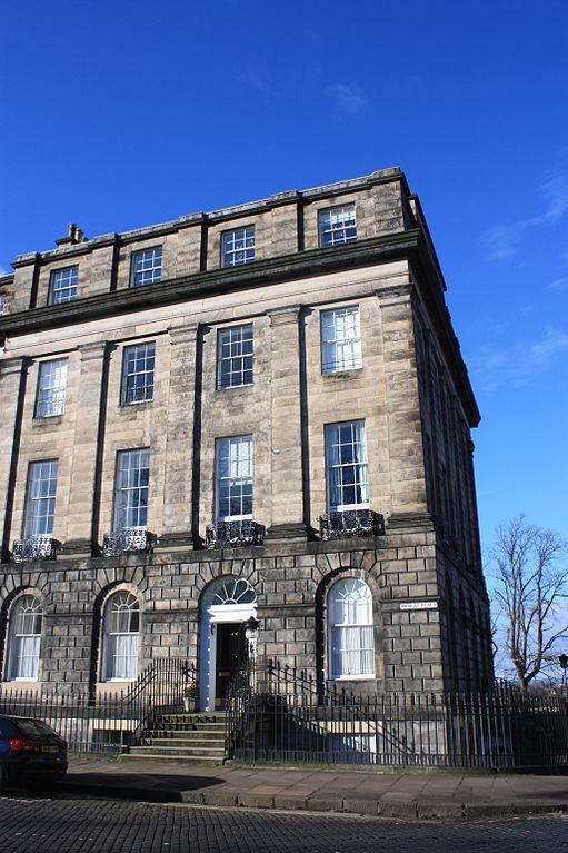 Karl Froebel lived at 20 Moray Place