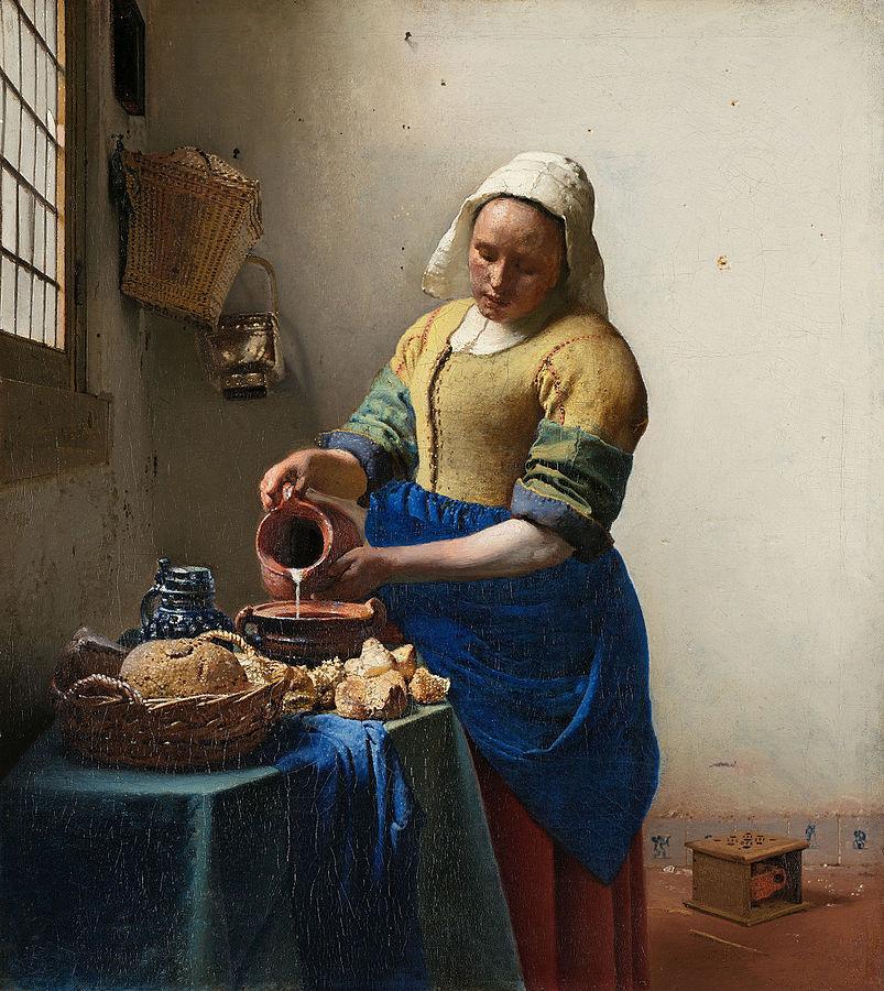 803px-Johannes_Vermeer_-_Het_melkmeisje_-_Google_Art_Project