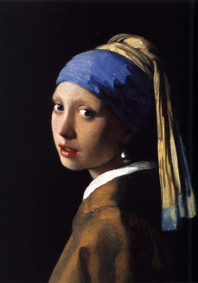 Vermeer - Het meisje met de parel